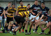 Action from the 2017 Hurricanes Secondary Schools co-ed rugby union final between Porirua College and Feilding High School at Arena Manawatu in Palmerston North, New Zealand on Saturday, 2 September 2017. Photo: Dave Lintott / lintottphoto.co.nz