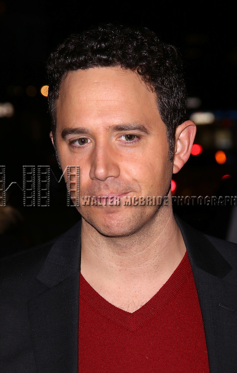 Santino Fontana attends 'The Robber Bridegroom' Off-Broadway Opening Night performance at Laura Pels Theatre on March 13, 2016 in New York City.