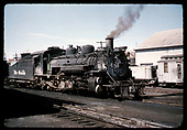 D&amp;RGW #481 with #493 tender in background Durango or maybe Chama<br /> D&amp;RGW  Durango, CO