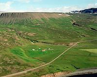 Höfði séð til suðausturs, Hofshreppur / Hofdi viewing southeast, Hofshreppur.
