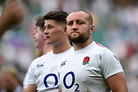 Tom Dunn of the England XV looks on after the match. Quilter Cup International match between England XV and the Barbarians on June 2, 2019 at Twickenham Stadium in London, England. Photo by: Patrick Khachfe / Onside Images