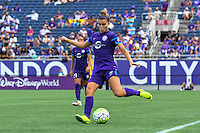 Orlando, FL - Sunday June 26, 2016: Stephanie Catley  during a regular season National Women's Soccer League (NWSL) match between the Orlando Pride and the Portland Thorns FC at Camping World Stadium.