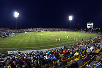 Sahlen's Stadium . The Western New York Flash defeated Sky Blue FC 2-0 during a National Women's Soccer League (NWSL) semifinal match at Sahlen's Stadium in Rochester, NY, on August 24, 2013.