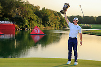Rory McIlroy (NIR) winner of the WGC HSBC Champions, Sheshan Golf Club, Shanghai, China. 03/11/2019.<br /> Picture Fran Caffrey / Golffile.ie<br /> <br /> All photo usage must carry mandatory copyright credit (© Golffile | Fran Caffrey)
