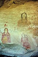 Ute Indian pictographs at Ute Mountain Tribal Park near Cortez, Colorado, USA, TomBean_Pix_1947.