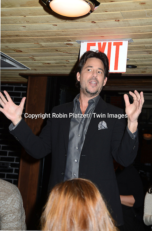 "Ricky Paull Goldin attends the Ricky Paull Goldin premiere party and fundraiser for his new HGTV show ""Spontaneous Construction"" which will air on February 15, 2013. The party was on February 10, 2013 at Guy's American Kitchen in New York City."
