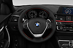 Car pictures of steering wheel view of a 2018 BMW 2-Series 230i-Sport-Line 2 Door Convertible Steering Wheel