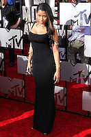 LOS ANGELES, CA, USA - APRIL 13: Nicki Minaj at the 2014 MTV Movie Awards held at Nokia Theatre L.A. Live on April 13, 2014 in Los Angeles, California, United States. (Photo by Xavier Collin/Celebrity Monitor)
