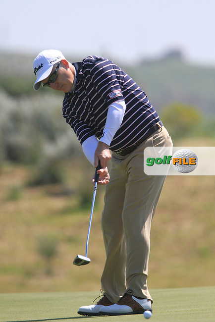 Phillip Price (WAL) on Day 3 of the 2012 Sicilian Open at Verdura Golf and Spa Resort, Sicily, Italy...(Photo Jenny Matthews/www.golffile.ie)