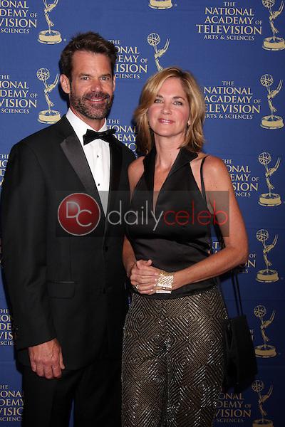 LOS ANGELES - JUN 20:  Tuc Watkins, Kassie DePaiva at the 2014 Creative Daytime Emmy Awards at the Bonaventure Westin on June 20, 2014 in Los Angeles, CA
