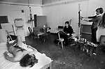 Slade school of art  London. Life class 1977.<br /> Rosemary Burton student.