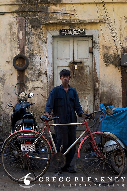 Young mechanic - Bombay/Mumbai - India