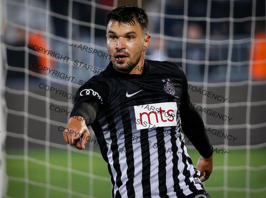 Fudbal Super League season 2016-2017<br /> Partizan v Radnicki Nis<br /> Valeri Bozhinov (Bojinov)<br /> Beograd, 22.10.2016.<br /> foto: Srdjan Stevanovic/Starsportphoto&copy;