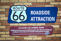 The Ariston Cafe in Litchfield Illinois on Route 66, opened in 1935, and is still in operation today.