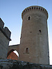 Tower of the Bellver Castle (1300-1310) in Palma de Majorca<br /> <br /> Torre del Homenaje (Torre de l'Homenatge) del Castillo de Bellver (cat.: Castell Bellver) (1300-1310) in Palma de Mallorca<br /> <br /> Turm des Schloss Bellveder (1300-1310)<br /> <br /> 2592 x 1944 px