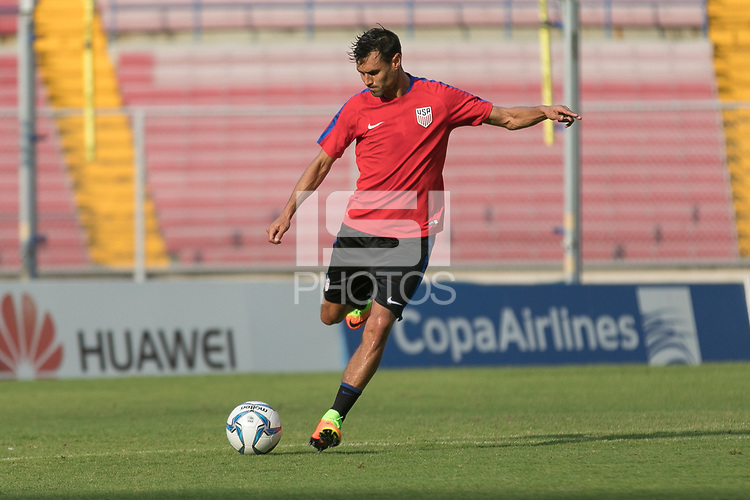 Panama City, Panama - March 27, 2017: The USMNT train in preparation for their 2018 FIFA World Cup Qualifying Hexagonal match against Panama at Rommel Fernandez Stadium.