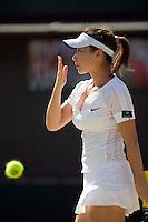 1-7-08, England, Wimbledon, Tennis, Zheng