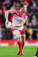 Picture by Alex Whitehead/SWpix.com - 11/05/2018 - Rugby League - Ladbrokes Challenge Cup - Leigh Centurions v Salford Red Devils - Leigh Sports Village, Leigh, England - Leigh's Ben Reynolds.