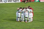 12.07.2017, Sportplatz, Zell am Ziller, AUT, TL Werder Bremen 2017 - FSP Werder Bremen (GER) vs Wolverhampton Wanderers (ENG), <br /> <br /> im Bild<br /> Mannschaftskreis vor dem Spiel mit Neu Kapitaen Thomas Delaney (Werder Bremen #6)<br /> Jerome Gondorf (Werder Bremen #8)<br /> Lamine San&eacute; / Sane (Werder Bremen #26)<br /> Max Kruse (Werder Bremen #10)<br /> <br /> <br /> Foto &copy; nordphoto / Kokenge