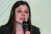 SAO PAULO, SP, 24 DE AGOSTO 2012 - FEIRA DO ESTUDANTE - Milena Dias, juiza do caso Eloa durante abertura da Feira do Estudante organizada pelo Guia do Estudante no que vai do dia 24 a 16 de agosto no Expo Center Norte na regiao norte da capital paulista. FOTO: AMAURI NENH - BRAZIL PHOTO PRESS.