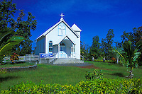 Star of the Sea church in Kalapana on the Big island of Hawaii