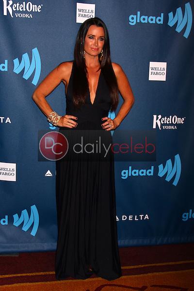 Kyle Richards<br /> at the 24th Annual GLAAD Media Awards, JW Marriott, Los Angeles, CA 04-20-13<br /> David Edwards/DailyCeleb.Com 818-249-4998