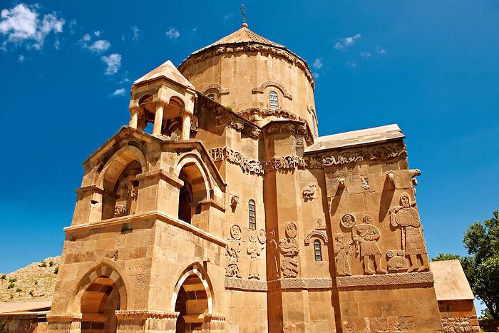 10th century Armenian Orthodox Cathedral of the Holy Cross on Akdamar Island, Lake Van Turkey 76