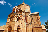 10th century Armenian Orthodox Cathedral of the Holy Cross on Akdamar Island, Lake Van Turkey 76