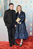 LONDON, UK - FEBRUARY 10: Jason Isaacs and Emma Hewitt at the 72nd British Academy Film Awards held at Albert Hall on February 10, 2019 in London, United Kingdom. Photo: imageSPACE/MediaPunch<br /> CAP/MPI/IS<br /> ©IS/MPI/Capital Pictures
