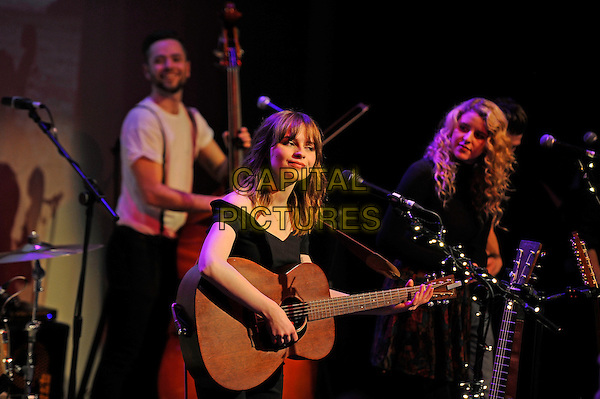 LONDON, ENGLAND - DECEMBER 9:   Gabrielle Aplin performing at The Tabernacle on December 9, 2014 in London, England.<br /> CAP/MAR<br /> &copy; Martin Harris/Capital Pictures