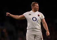 England's Dylan Hartley<br /> <br /> Photographer Bob Bradford/CameraSport<br /> <br /> 2018 Quilter Internationals - England v Australia - Saturday 24th November 2018 - Twickenham - London<br /> <br /> World Copyright &copy; 2018 CameraSport. All rights reserved. 43 Linden Ave. Countesthorpe. Leicester. England. LE8 5PG - Tel: +44 (0) 116 277 4147 - admin@camerasport.com - www.camerasport.com