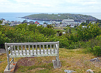 Bench Overlooking Monhegan Island