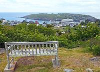 Bench Overlooking Monhegan Island