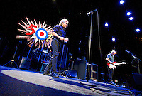 The Who perform their 50th Anniversary tour at American Airlines Center on Saturday Night. Roger Daltrey on vocals and Pete Townshend on guitar.   (Special to the Star-Telegram/Rachel Parker)