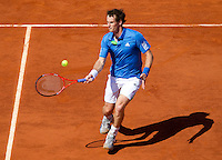 ANDY MURRAY (GBR) (4) against JUAN IGNACIO CHELA (ARG) in the Quarterfinals of the Men's Singles. Andy Murray beat Juan Ignacio Chela 7-6 7-5 6-2..Tennis - Grand Slam - French Open - Roland Garros - Paris - Day 11 -  Wed June 1st  2011..© AMN Images, Barry House, 20-22 Worple Road, London, SW19 4DH, UK..+44 208 947 0100.www.amnimages.photoshelter.com.www.advantagemedianetwork.com.