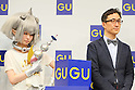 Kyary Pamyu Pamyu and Osamu Yunoki, March 5, 2013 : , March 5, 2013 : Japanese fashion model and singer Kyary Pamyu Pamyu attends media conference for G.U. Spring & Summer 2013 Business Strategies in Tokyo on March 5, 2013.  (Photo by Yohei Osada/AFLO)