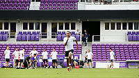 Orlando, Florida - Friday January 12, 2018: Mason Toye during the sprint. The 2018 adidas MLS Player Combine Skills Testing was held Orlando City Stadium.