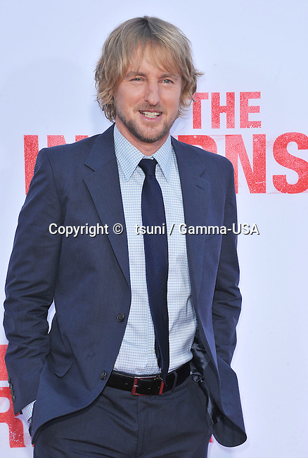 Owen Wilson 135 arriving at The Internship Premiere at the Westwood Village Theatre in Los Angeles.
