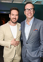 LOS ANGELES, CA - FEBRUARY 6:  Mark-Paul Gosselaar and Charlie Collier attend the FOX Winter TCA 2019 All Star Party at The Fig House on February 6, 2019 in Los Angeles, California. (Photo by Scott Kirkland/Fox/PictureGroup)