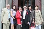 Aaronn Finnegan and family at the Confirmation in St.Mary's Church...Photo NEWSFILE/Jenny Matthews.(Photo credit should read Jenny Matthews/NEWSFILE)....This Picture has been sent you under the condtions enclosed by:.Newsfile Ltd..The Studio,.Millmount Abbey,.Drogheda,.Co Meath..Ireland..Tel: +353(0)41-9871240.Fax: +353(0)41-9871260.GSM: +353(0)86-2500958.email: pictures@newsfile.ie.www.newsfile.ie.FTP: 193.120.102.198.
