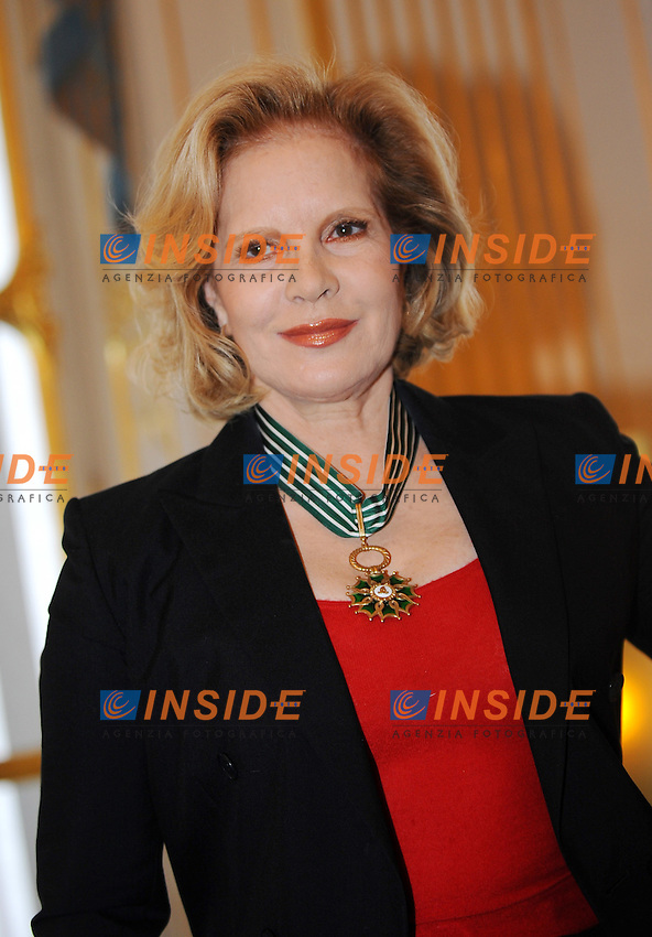 "Sylvie Vartan riceve l'onorificenza di ""Commandeur de l ordre des Arts et Lettres"" al Ministero della Cultura Francese per i suoi 50 anni di carriera..Foto Insidefoto / Christian Liewig / Panoramic"