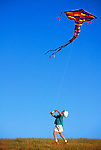 Kite Flying, San Luis Obispo, California