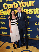 www.acepixs.com<br /> <br /> September 27 2017, New York City<br /> <br /> Cazzie David and Larry David arriving at the premiere of Season 9 of 'Curb Your Enthusiasm' at the SVA Theater on September 27, 2017 in New York City. <br /> <br /> By Line: William Jewell/ACE Pictures<br /> <br /> <br /> ACE Pictures Inc<br /> Tel: 6467670430<br /> Email: info@acepixs.com<br /> www.acepixs.com