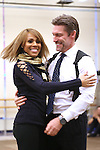 Deborah Cox and Judson Mills perform during the North American Premiere presentation of 'The Bodyguard' at The New 42nd Street Studios on November 10, 2016 in New York City.