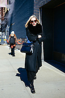 Jane Keltner de Valle attends Day 2 of New York Fashion Week on Feb 13, 2015 (Photo by Hunter Abrams/Guest of a Guest)
