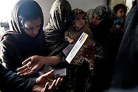 The Hamoon clinic in Farah province Afghanistan. 18-1-14 The Hamoon clinic in Farah province Afghanistan was founded by MP and activist Malalai Joya in 2003. It provides healthcare to women and children from some of the poorest communities in the country. It is funded by donations from abroad and run by the Organisation for Promoting Afghan Womens Capabilities (OPAWC).  Vitamin enriched food suppliments for children suffering from malnutrition.