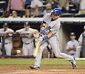 Munenori Kawasaki (Blue Jays),<br /> JUNE 17, 2014 - MLB : Japan's infielder Munenori Kawasaki of the Toronto Blue Jays bats during the Major League Baseball game against the New York Yankeesat at Yankee Stadium in the Bronx, NY, USA.<br /> (Photo by AFLO)