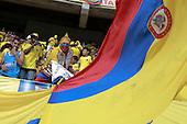 Hinchas de Colombia antes del partido contra Peru  en el Estadio Metropolitano Roberto Melendez de Barranquilla el  8 de octubre de 2015.<br /> <br /> Foto: Archivolatino<br /> <br /> COPYRIGHT: Archivolatino<br /> Prohibido su uso sin autorizaci&oacute;n.