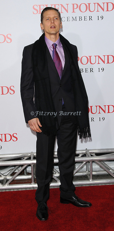 Berry Pepper at the premiere of Seven Pounds held at Mann Village Theater Westwood, Ca. December 16, 2008