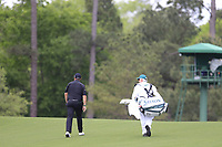 Shane Lowry (IRL) on the 3rd fairway during the 2nd round at the The Masters , Augusta National, Augusta, Georgia, USA. 12/04/2019.<br /> Picture Fran Caffrey / Golffile.ie<br /> <br /> All photo usage must carry mandatory copyright credit (© Golffile | Fran Caffrey)